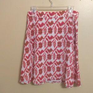 Aaron ashe 100% silk skirt sz medium *N